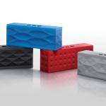 jawbone Jambox in grigio,nero,blu e rosso